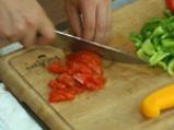 Царевична салата със зелен фасул 4