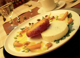 Вариация от сирене с плодове