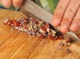 Октопод на грил с ризото със сушени домати и маслини 3
