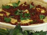 Тарта със сушени домати и тиквички 4