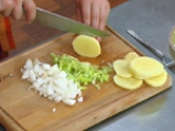 Наденица с картофи за микровълнова фурна 2