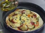 Калабрийска пица с патладжани 4