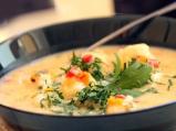 Супа с рибени топчета