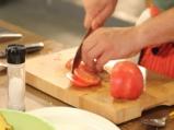 Тортила чипс с дип от червен боб 4