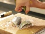 Риба на пара с женевски сос и пюре от тиквички 3