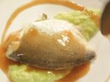 Риба на пара с женевски сос и пюре от тиквички 12