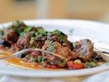 Средиземноморски кюфтета с пресни домати