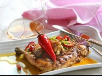 Печено пиле със сос пири-пири