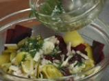 Картофена салата с червено цвекло 4