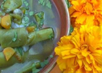 Чорба от зелен фасул