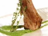 Свински врат със сос