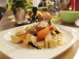 Салата от кореноплоди с бъз и лимон 4