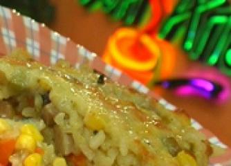"""Ориз със зеленчуци """"Асамбле"""""""