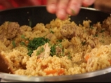 Кускус с пилешко и сушени кайсии 4
