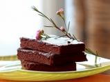 Сочен шоколадов кейк без брашно