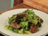 Топла салата с пилешки дробчета 6