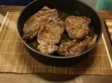 Свински вратни пържоли с туршия 4
