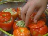 Пълнени домати с ризото от тиквички 4