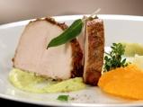 Свинско печено с чесън