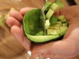 Дип от авокадо със скариди