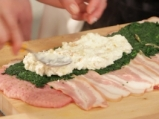 Руло от свинско със спанак и сирене 4