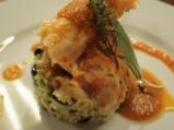 Печен заек с кафяв ориз и зеленчуци 9
