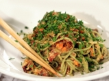 Азиатски нудли със зеленчуци