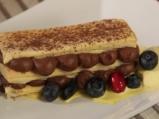 Милфьой с шоколад и лавандула 9