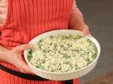 Коприва на фурна с козе сирене и доматен сос 7