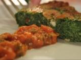Коприва на фурна с козе сирене и доматен сос 8