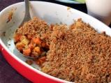 Кръмбъл с моркови и пащърнак