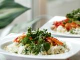 Ориз със зеленчуци в уок