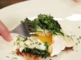 """Яйца по флорентински със сос """"Морне"""" 9"""
