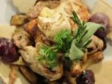 Пълнено печено пиле по селски 8