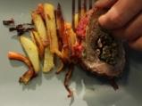 Телешки език със зеленчуци 9