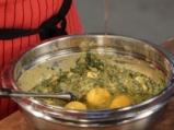 Лапад с яйца и сирене на фурна 4