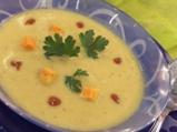 Супа от зелени домати с къри