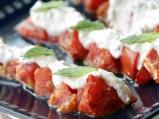 Салата от печени червени домати