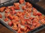 Салата от печени червени домати 2