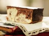 Мраморен кейк с шоколадова глазура