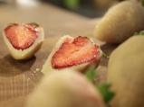 Пудинг от грис с ягоди 8