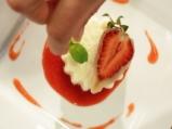 Пудинг от грис с ягоди 9