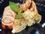 Пилешко с клафути от тиквички 9
