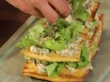 Хрупкав вегетариански сандвич 9