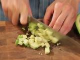 Супа с царевица и скариди в купичка от хляб 8