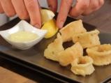 Панирани калмари с къри сос 6