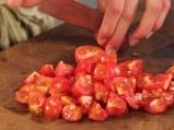 Салата от булгур с домати и сирене 3