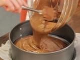 Шоколадово парфе с ментов мус и череши 4