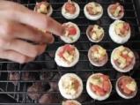 Пълнени гъби със сирене и домат 3