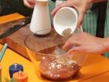 Дроб на скара с ароматно масло